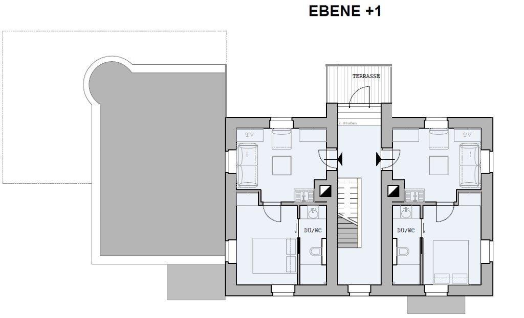 Chalet Badberg, Ebene +1