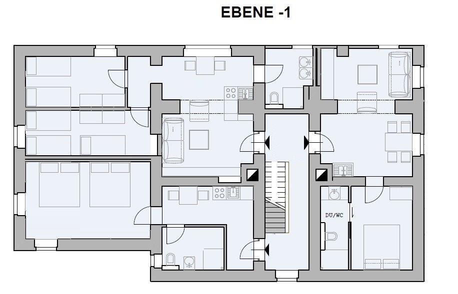 Chalet Badberg, Ebene -1