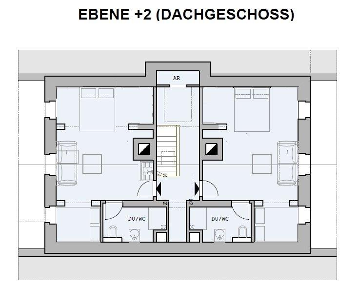 Chalet Badberg, Ebene +2